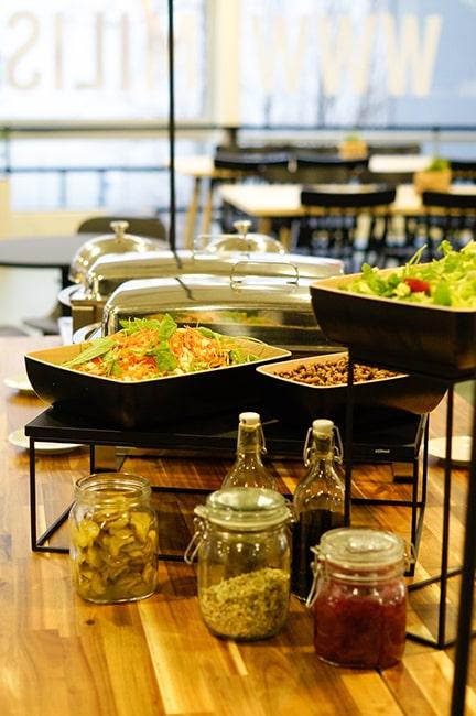 buffet ruokaa